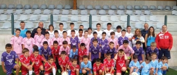 Comienza el IX Campus Fútbol Santa María De Cayón, con la Asistencia de 50 Niños