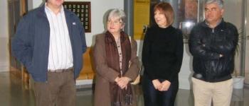 """Se inauguró la nueva exposición ArteSalud 2010.María Eugenia Gómez Muñiz.""""Damiselas Cubanas."""""""
