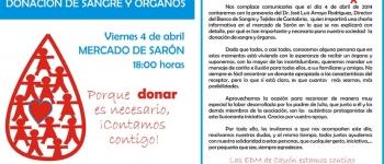 Porque donar es necesario, ¡Contamos contigo!. Charla informativa sobre la donación de sangre y órganos