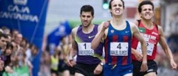El campeón de Europa Manuel Olmedo triunfa en la Milla de Cayón
