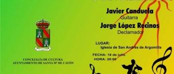 Ciclo de Conciertos.18 de julio en la Iglesia de san Andrés de Argomilla. Organizado por la Concejalía de Educación,Cultura y Juventud