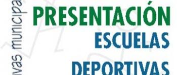 Presentación de las Escuelas Deportivas Municipales