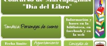 """Bases del Concurso de Marcapáginas. """"Día del Libro"""""""