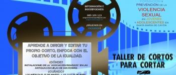 Participa en los talleres de teatro y de cortos que se organizan dentro del programa IRENE en Santa María de Cayón.
