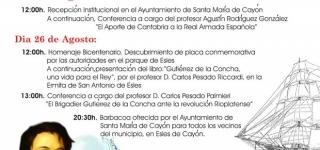 Conmemoración Bicentenario D. Juan A. Gutiérrez de la Concha