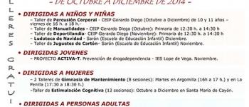 Dan comienzo los nuevos cursos ofertados por el Ayuntamiento de Santa María de Cayón.