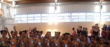 La EDM Gimnasia Rítmica Santa María de Cayón participó en el Torneo Interescuelas de Piélagos