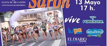 El domingo 13 de Mayo se celebrará, en Sarón, la XVII Milla Urbana Real Valle de Cayón.