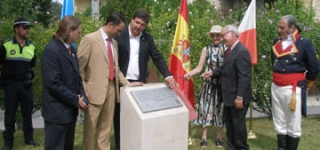 El Parlamento de Cantabria homenajea al Brigadier D. Juan A. Gutiérrez de la Concha en Esles de Cayón