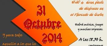El próximo 31 de octubre celebramos Halloween en el Mercado de Sarón.