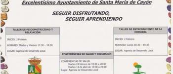 Programa para los mayores de 60 años del Excelentísimo Ayuntamiento de Santa María de Cayón