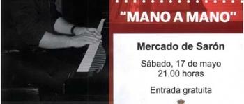 """Jairo León  y Flamenco Tablao """"Mano a Mano"""", en el Mercado de Sarón este sábado 17. Entrada gratuita."""