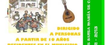 ¡¡¡Anímate y Participa!!! en las actividades musicales que lleva a cabo el grupo  Rondalla