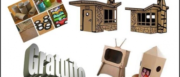 Taller de juguetes de cartón para niños y niñas